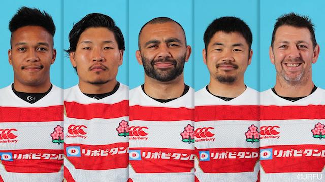 ラグビー日本代表選手