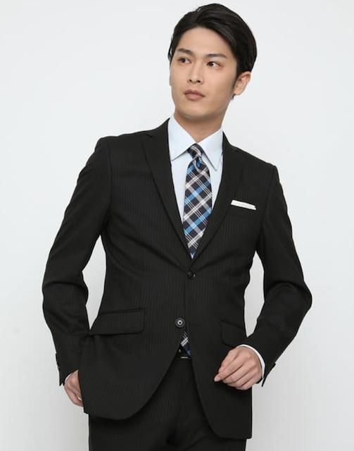 入学式AOKI男性スーツ
