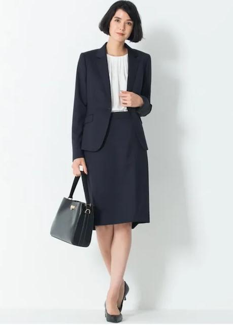 23区スーツ女子入学式